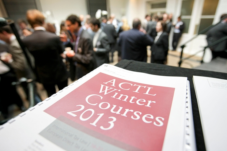 Programme of winter courses ACTL 2013